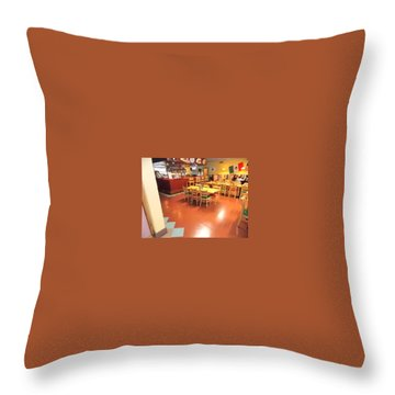 Interior Restaurant Throw Pillow
