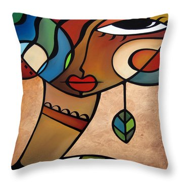 Interlude Throw Pillow by Tom Fedro - Fidostudio