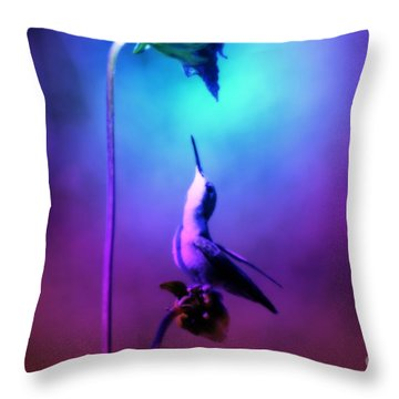 Internal Strength Throw Pillow by Cathy  Beharriell