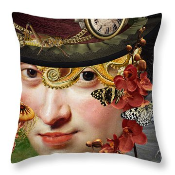 Internal Warfare Throw Pillow