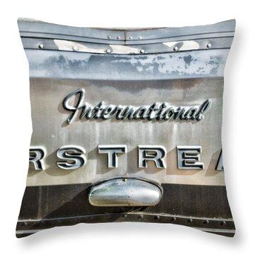 International Airstream Throw Pillow