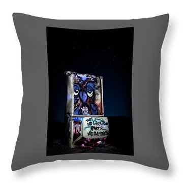 Throw Pillow featuring the photograph International Car Forest Of The Last Church 3 by James Sage