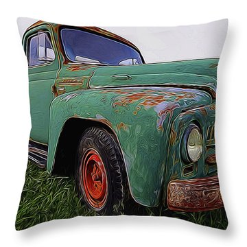International Hauler Throw Pillow