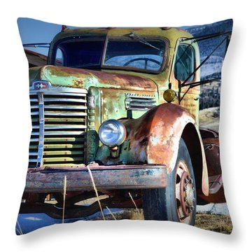 International Memories Throw Pillow