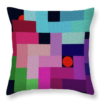 Internet Hot Spot Oil Throw Pillow