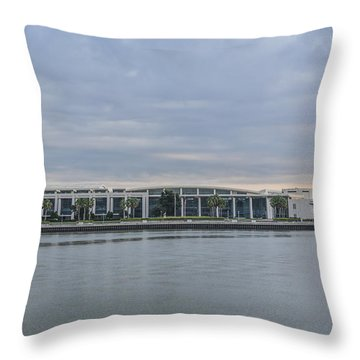 Interntational Trade And Convention Center Throw Pillow