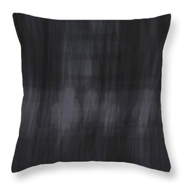 Interphase Arrival Throw Pillow by Kevin McLaughlin