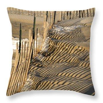 Intersection Throw Pillow by Lynda Lehmann