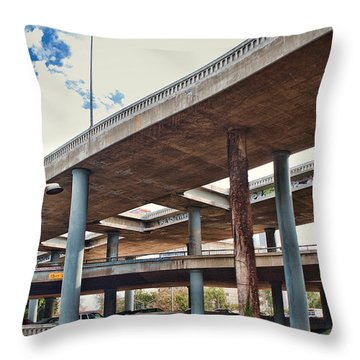 Interstate Exchange Throw Pillow