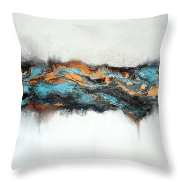Intertwined 3 Throw Pillow