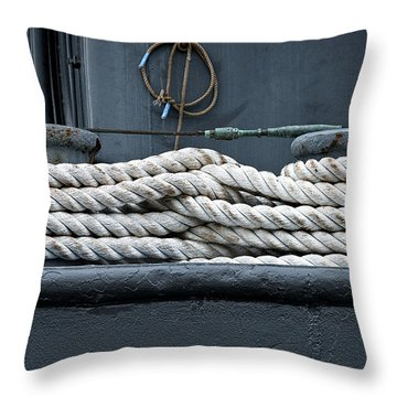 Intertwined Throw Pillow by Christopher Holmes