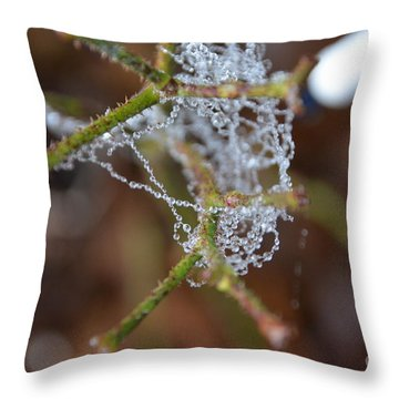 Intertwined In Beauty And Life. -georgia Throw Pillow