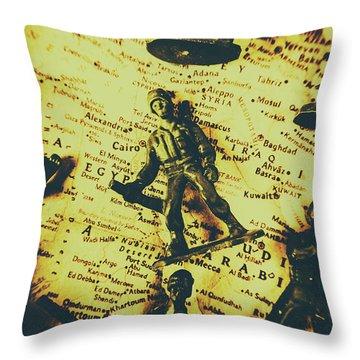 Iraq Throw Pillows