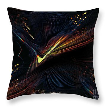 Meditative Vision Throw Pillow