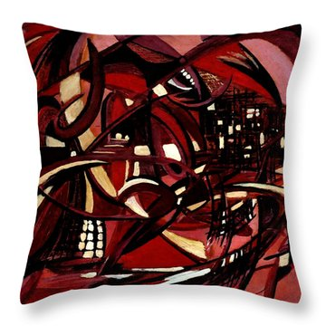 Intimate Still Life With Incidental Intensity Throw Pillow