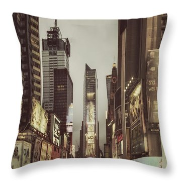 Into A Sea Of Souls Throw Pillow