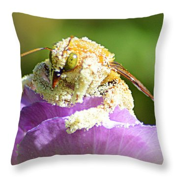 Into Something Good Throw Pillow by AJ Schibig