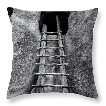 Into The Alcove Throw Pillow