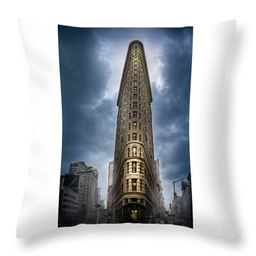 Throw Pillow featuring the photograph Into The Clouds by Marvin Spates