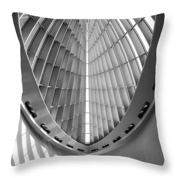 Into The Future Throw Pillow