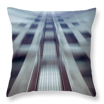 Into The Future Throw Pillow by Wim Lanclus