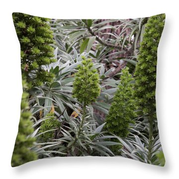 Into The Grove Throw Pillow