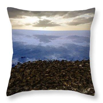 Into The Horizon  Throw Pillow