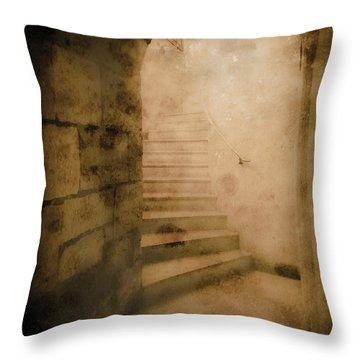 London, England - Into The Light II Throw Pillow