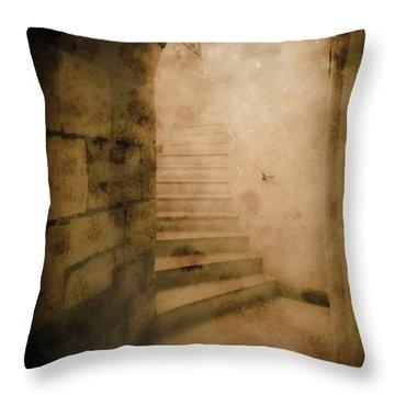 London, England - Into The Light II Throw Pillow