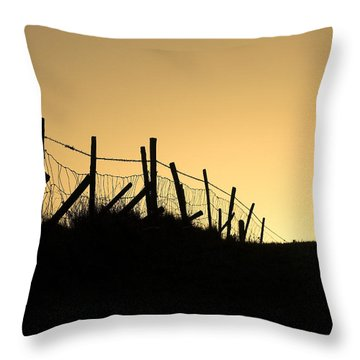 Into The Light Throw Pillow by Hazy Apple