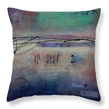 Into The Mystery Throw Pillow