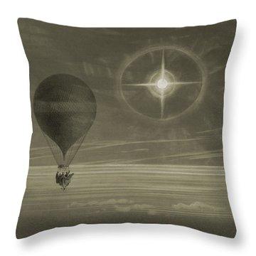 Into The Night Sky Throw Pillow