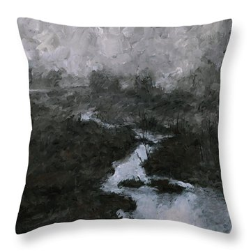 Into The Void 3 Throw Pillow