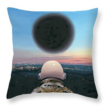 Into The Void Throw Pillow by Scott Listfield