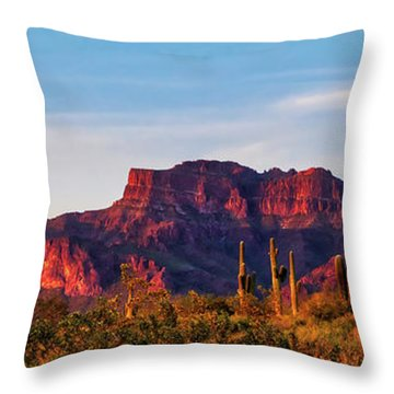 Into The West Throw Pillow