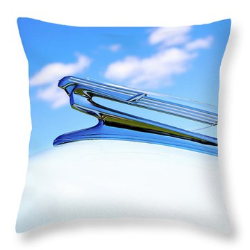 Throw Pillow featuring the photograph Into The Wild Blue Yonder by Rebecca Cozart