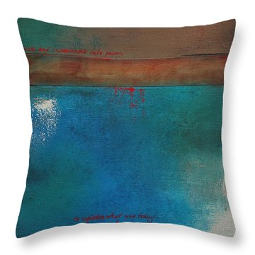 Into The Wisp 1 Throw Pillow