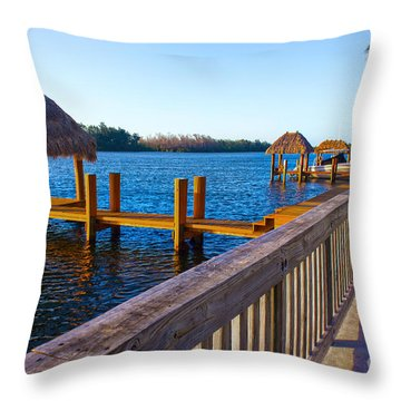 Intracoastal Series 12 Throw Pillow
