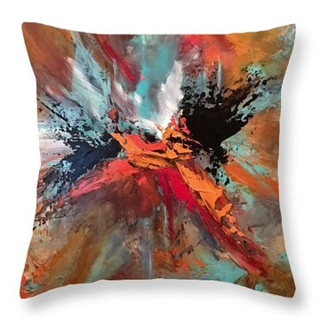 Intrepid Throw Pillow
