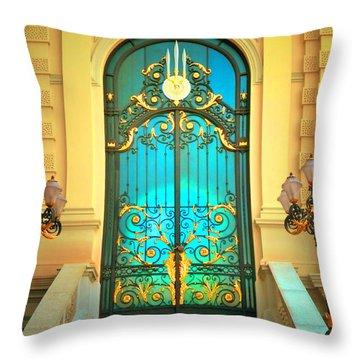 Intricacies Throw Pillow by Tara Turner