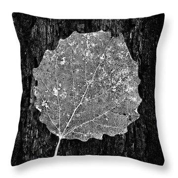 Intricate  Throw Pillow by Karen Stahlros