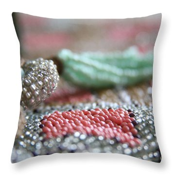 Intricate  Throw Pillow by Lynn England