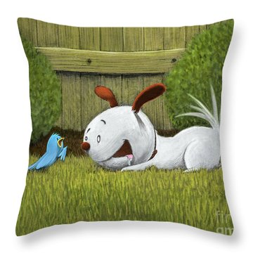 Introductions Throw Pillow