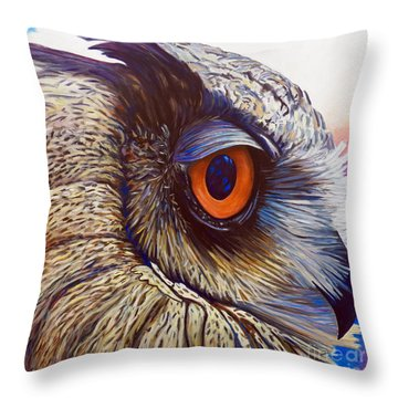 Introspection Throw Pillow