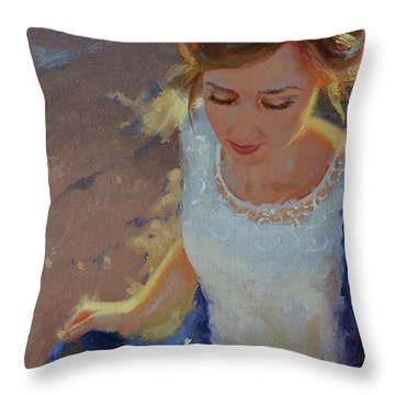 Introspection Throw Pillow