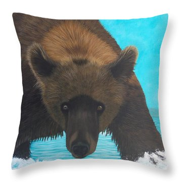 Interuption Throw Pillow