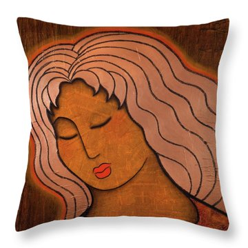 Intuitive Listening Throw Pillow