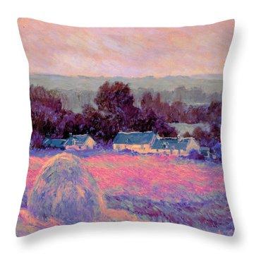Inv Blend 10 Monet Throw Pillow