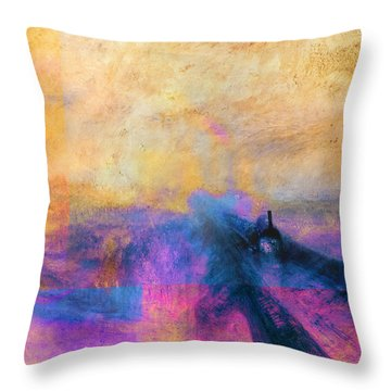 Inv Blend 12 Turner Throw Pillow by David Bridburg