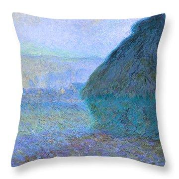 Inv Blend 21 Monet Throw Pillow
